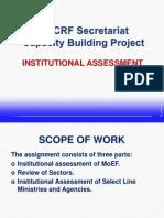 Institutional Assessment