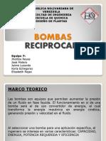 Diapositivas Bomba Reciprocante