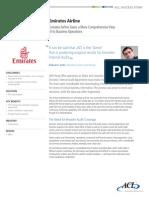 Success Storyof Emirates