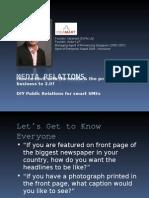 Media Relations-Pecha Kucha