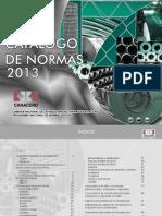 Catalogo de Normas MX 2013