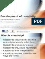 Creativity LT