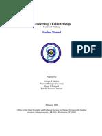 Leadership Folowershhip Recurrentstudentmanual 10x10