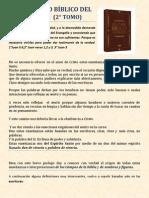 Diccionario Bíblico del Espíritu (2° Tomo)