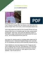 Siswi SMKN Bunuh Diri Meninggalkan Surat Wasiat