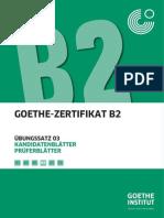Fit Fürs Goethe Zertifikat B2 Prüfungstraining