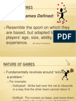 modified games  small-sided games