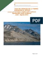 01 Proyecto Expedicion Aepect 2013 Svalbard