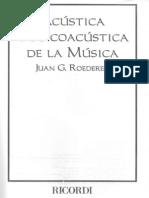 Acustica y Psicoacústica Roederer