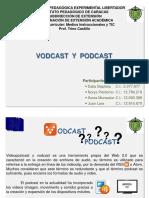 Medio Tecnologico Vodcast y Podcast Grupo 3 Amarillo-1[1]