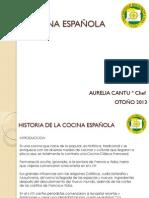 Historia Cocina Espanola