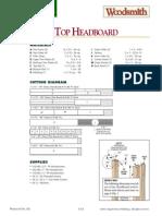 Arch Top Headboard