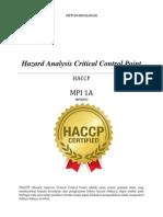Makalah HACCP
