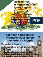 PKn-Sistem Pemerintahan Inggris