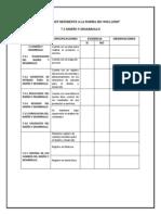 Checklist Referente a La Norma Iso-9001 Formato