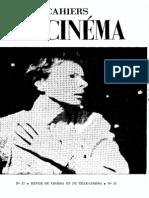 Cahiers du Cinéma Vol. 37