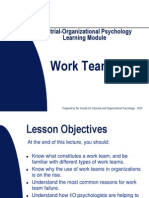 Work Teams Module