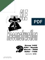 SLE Reconstruction 1st Edition
