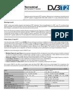 DVB T2 Factsheet