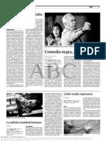 JAVIER CORTIJO - ABC - Crítica La buena nueva