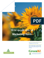 Green Marketing Tips  (Vietnamese)