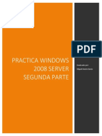 Practica Windows 2008 Server Segunda Parte