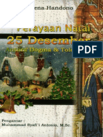 Irena Handono Perayaan Natal 25 Desember Antara Dogma dan Toleransi