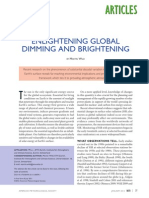 Enlightening Global Dimming and Brightening 2012 Wild