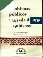 Problemas Publicos y Agenda de Gobierno,Luis Felipe Aguilar Villanueva