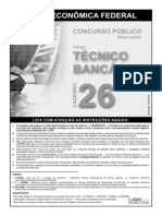 Prova Tecnico Bancario 26 2006