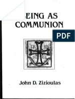 Metr. John Zizioulas - Being as Communion