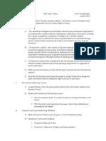 UP Law SLR Outline