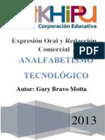 Ensayo - ANALFABETISMO TECNOLÓGICO