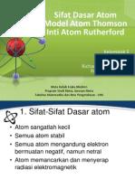 Teori Atom Rutherford Dan Spektrum Garis