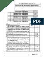 Formulario Especificaciones Tecnicas Postes de Fibra de Vidrio
