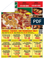 Fort Ball Pizza Palace Coupons - Tiffin