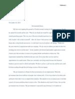 documented essay final draft