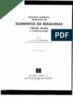 NIEMANN Elementos de Maquinas Vol 1 Bueno