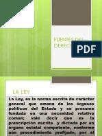 6 Fuentes Del Derecho