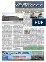 The Village Reporter - December 18th, 2013