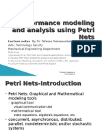 Petri nets for manufacturing modeling