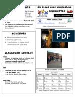 Newsletter Week 15