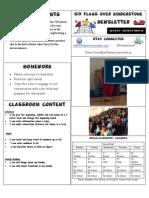 Newsletter Week 16