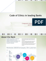 Code of Ethics in Banks