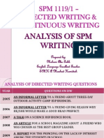 Tips&Techniques in Spm Writing