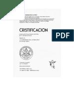 Rosacruz Confederacion de Iniciados Ruben Swinburne Clymer Cristificacion