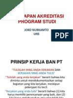 Persiapan Akreditasi Program Studi Sarjana