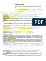 Midterm Lerning Objectives