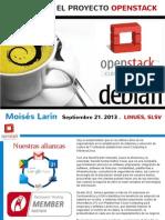 Conociendo OpenStack Delfos MoisesLarin