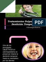 Tratamientos Pulpares en Dentición Temporal (1)